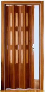 дверь гармошка установка
