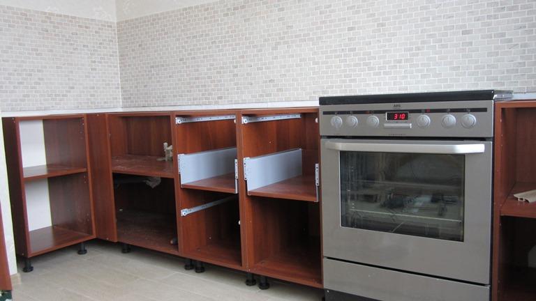 Кухни установка своими руками фото