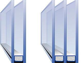 Преимущества двухкамерных стеклопакетов