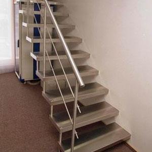 Металлические лестницы в частном доме