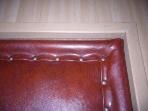 Технология обивки деревянной двери