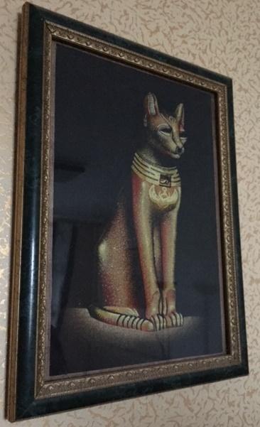 Картина в рамке из багета