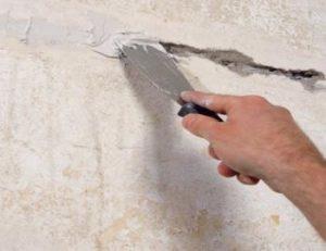 Ремонт трещин в бетонных стенах