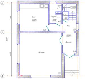 Примерный план дома