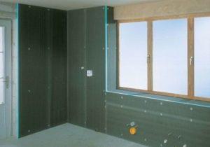 Утепление стен теплоизоляционными панелями