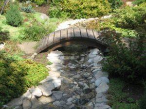 Строительство сухого ручья