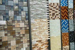 Виды стеклянной плитки