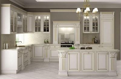 Интерьер кухни классика