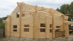 Деревянные дома из оцилиндрованного