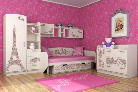 Мебель для детской комнаты девочке