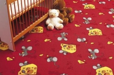 теплое напольное покрытие в детскую комнату