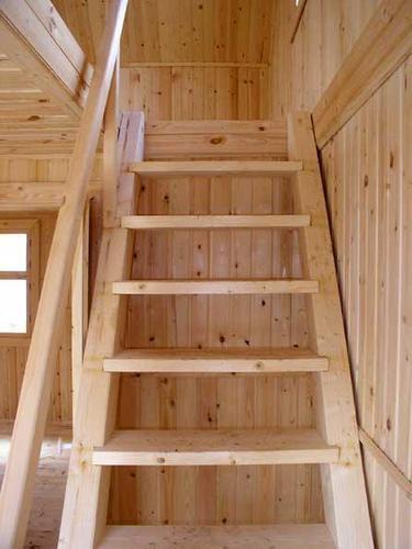 Как сделать мансардную лестницу своими руками