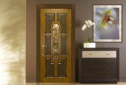 межкомнатные двери в интерьере квартиры