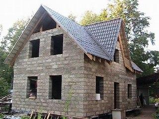Cтроительство домов из арболита