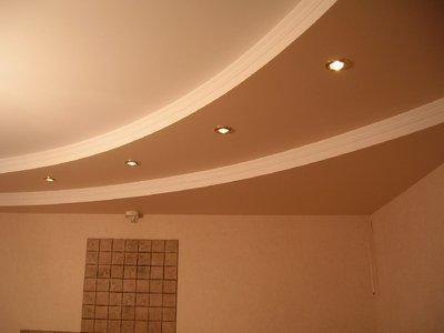 двухуровневый потолок из гипсокартона своими руками