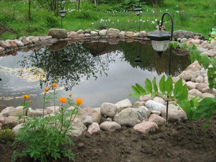 Из чего сделать водоем на даче