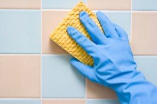 Как отмыть кафель от затирки после ремонта