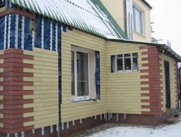 Вентилируемые фасады частных домов