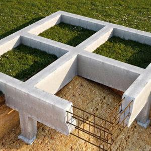Выбор фундамента для дома